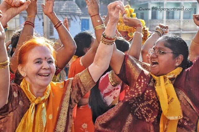 Jubilant in Pilgrims Dwarka