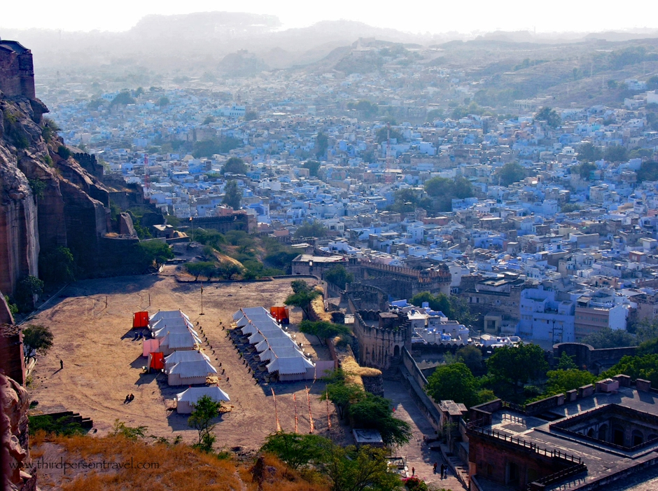 atop Mehrangarh Fort, Jodhpur, India