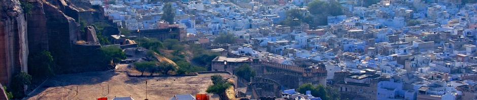 atop Mehrangarh Fort, Jodhpur, India